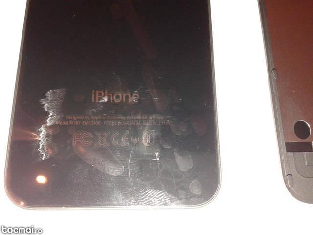 capac baterie case spate iPhone 4S model A1387 alb sau negru
