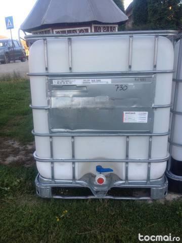 Bazine 1000 litri grilaj metalic