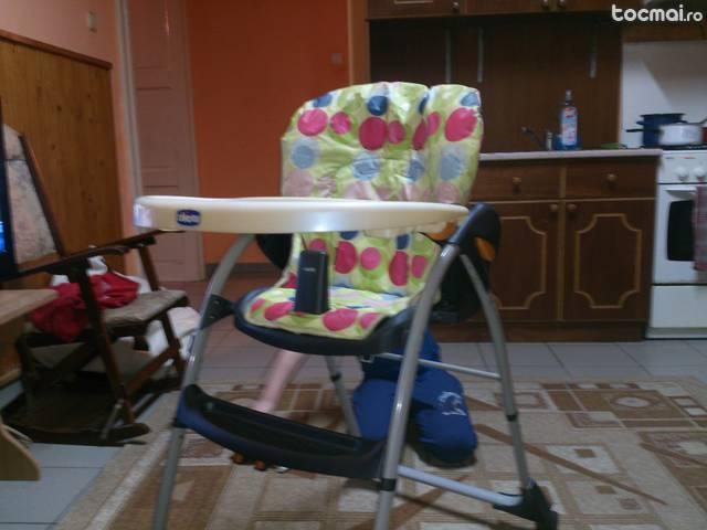 Scaun de luat masa copii