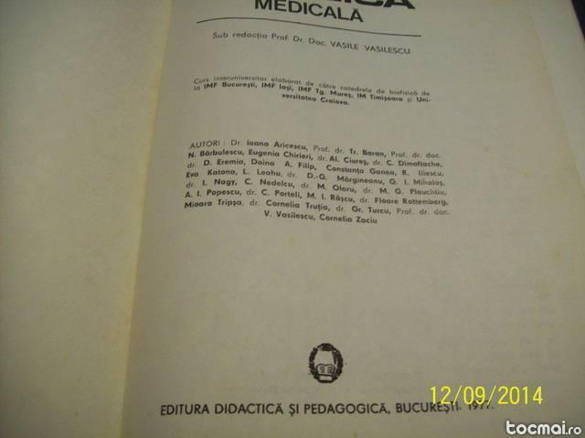 Biofizica medicala 1977