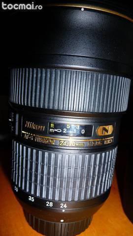 Obiectiv nikon af- s nikkor 24- 70mm f/ 2. 8g ed nano