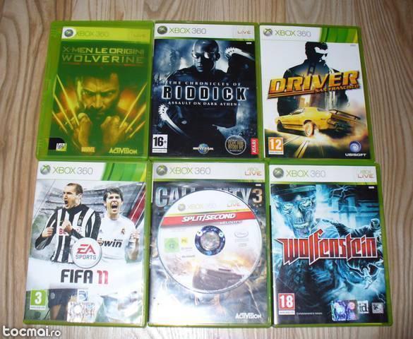 Pachet 6 jocuri Xbox 360 originale