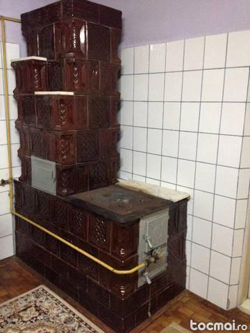 Soba teracota cu plita brick7 vanzare for Dedeman sobe teracota cu plita