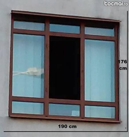 Rama termopan balcon
