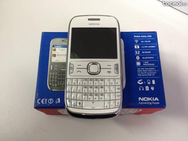 Nokia Asha 302 alb - liber de retea 10/ 10