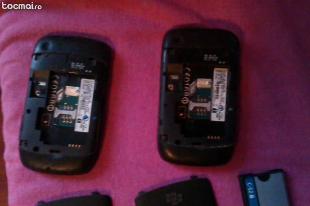 Pachet 2 telefoane Blackberry 9300 curve