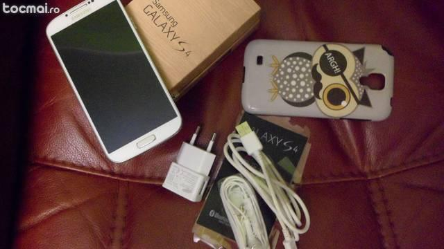 Samsung Galaxy S4 i9505 4G white - la cutie - Nou!