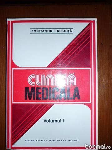 Clinica medicala. vol. 1 de constantin i. negoita
