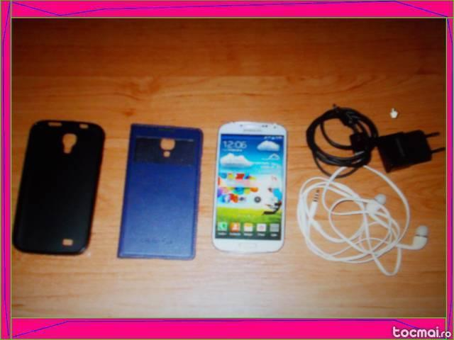 Samsung Galaxy S 4 Alb pachet full.