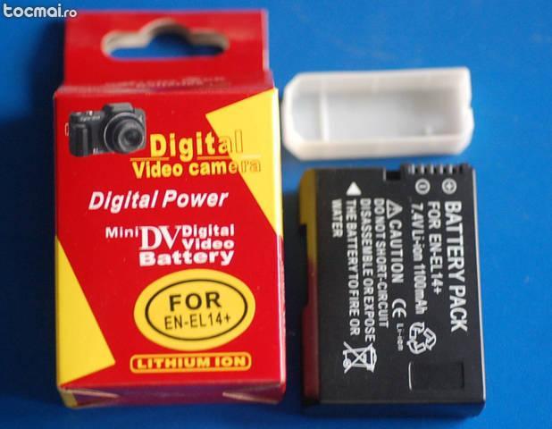 Acumulator Nikon en- el14 ( d3100, d5100, d5200, d3200 )
