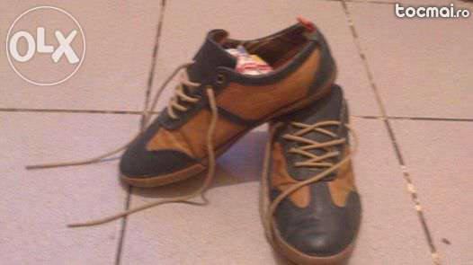 Pantofii copii piele