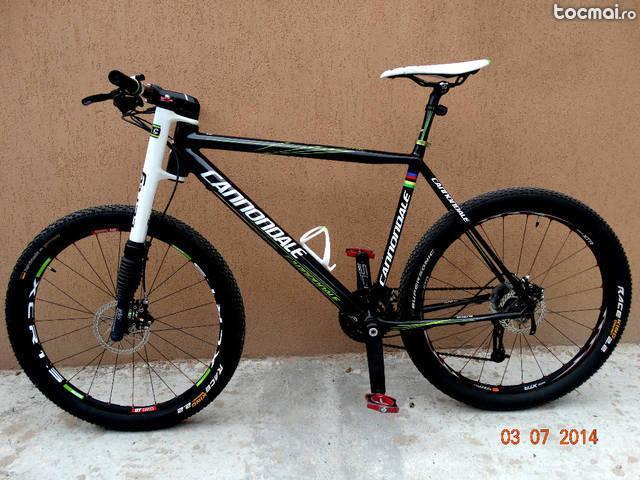 Bicicleta carbon Cannondale Flash Lefty