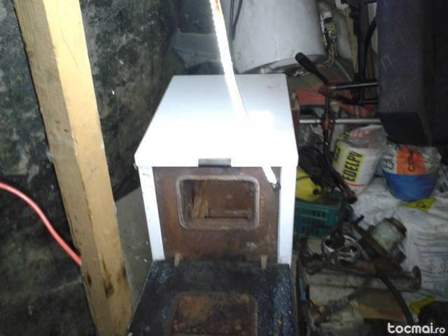 centala termica 25kw din fonta pe lemne si carbune