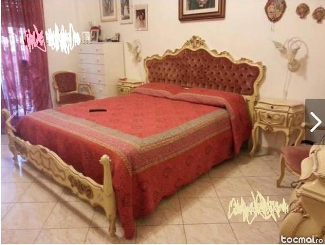 dormitor vechi stil baroc venetian complet, 9 piese