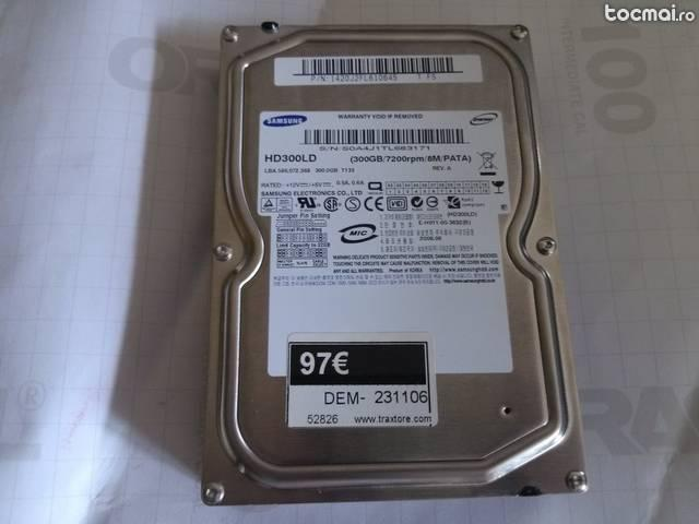 Hard disk Samsung 300GB, health 100%