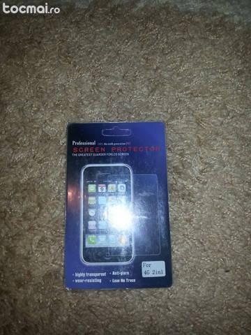 Folie de protectie Iphone 4/ 4S fata+spate+panza de curatare
