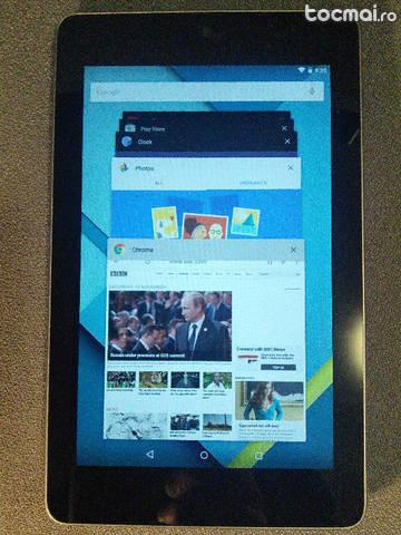 Tableta Asus Google Nexus 7 cu Android 5. 0 Lollipop