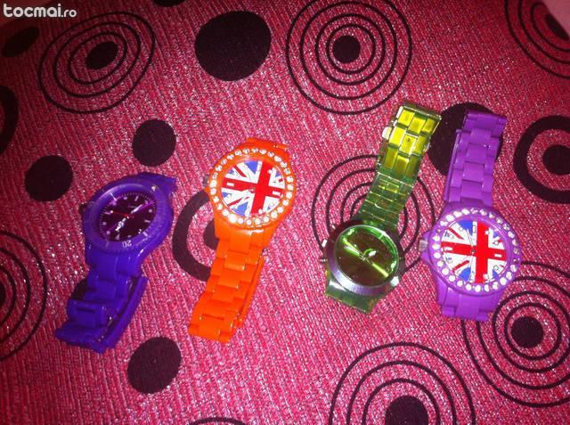 Ceasuri diferite modele si culori