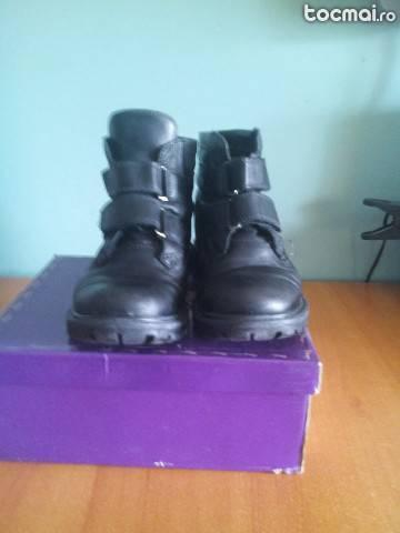 Pantofi din piele pentru copii