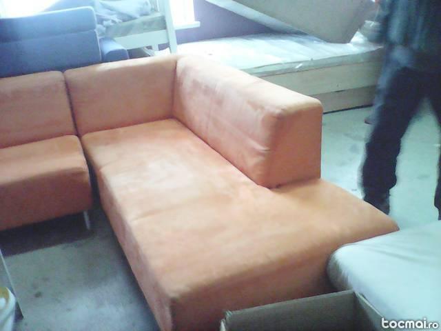 Canapea de colt neextensibila