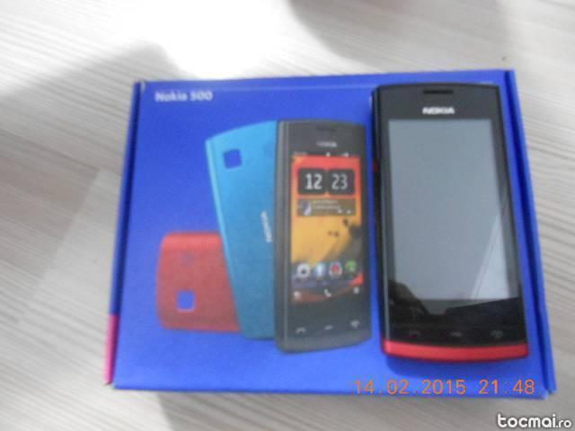 Nokia 500 touch screen.