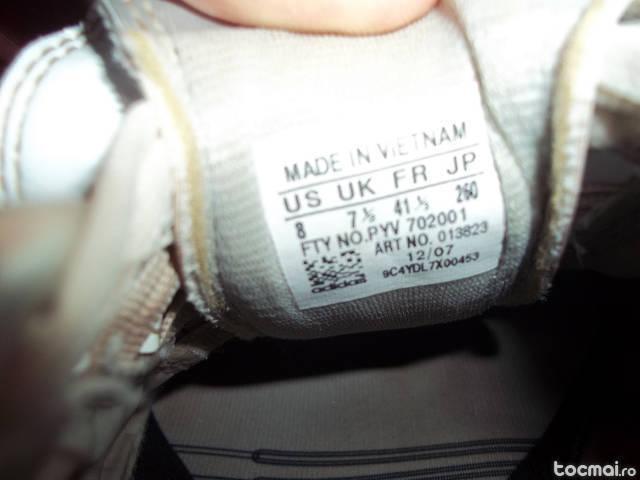 Schimb ghete adidas cu adidasi de sala, sintetic