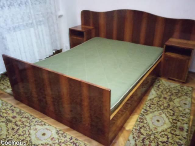 Mobila dormitor lemn masiv cires