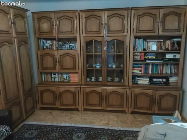 mobilier living lemn masiv