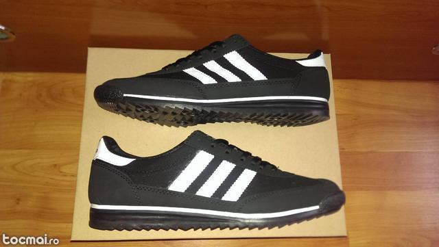 Adidasi Adidas SL72 Panza Negru Cu Alb Model Nou
