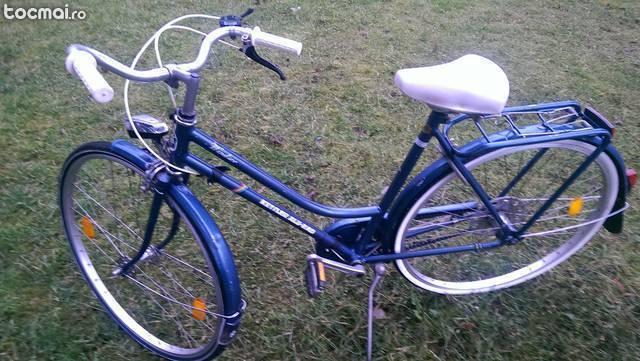 Bicicleta de oras din aluminiu