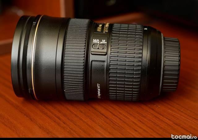 Obiectiv Nikon AF- S NIKKOR 24- 70mm f/ 2. 8G ED Nano Cristal