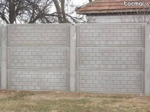 gard placi beton brick7 vanzare. Black Bedroom Furniture Sets. Home Design Ideas