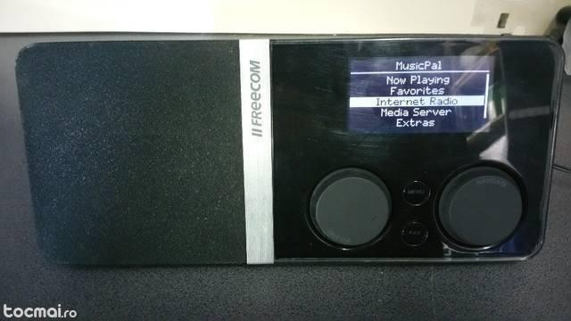 Radio mp3 player digital wireless freecom musicpal
