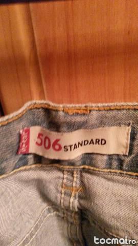 Blugi Levis Standard 506 NOI. Marimea 33/ 30