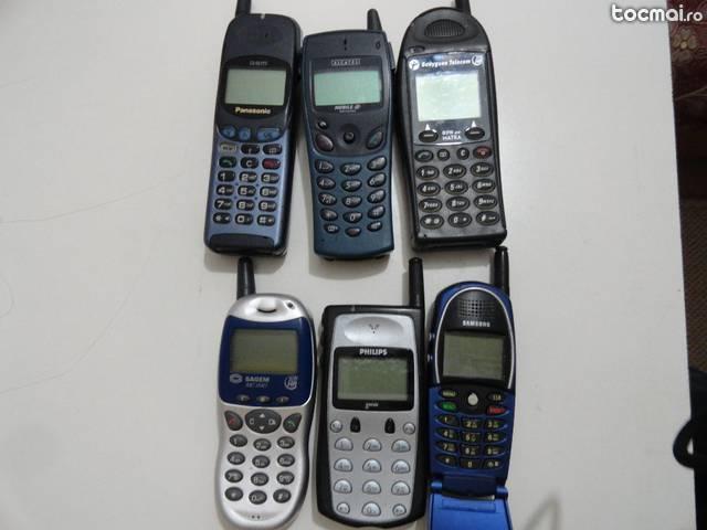 Lot telefoane colectie- Panasonic, Sagem, Alcatel, Samsung