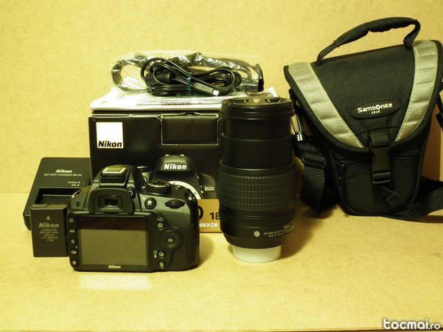 Nikon D3200 + Nikon 18- 105mm VR (in garantie)