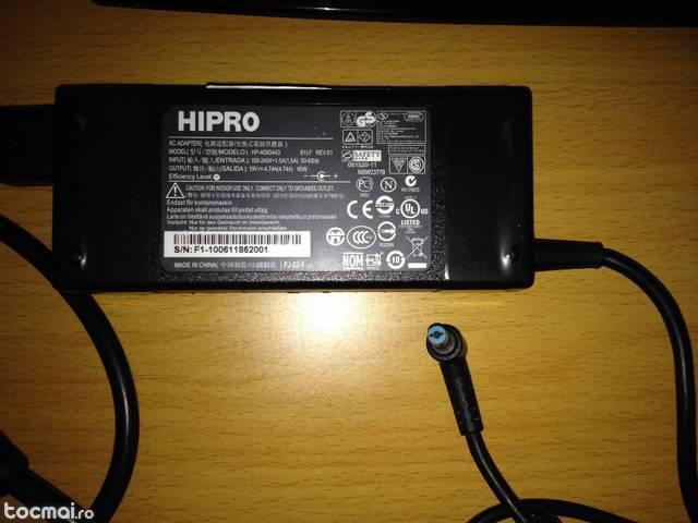Alimentator laptop Hipro 19V 4. 74A 90W cu mufa albastra