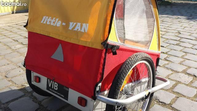 Remorca bicicleta pentru copii