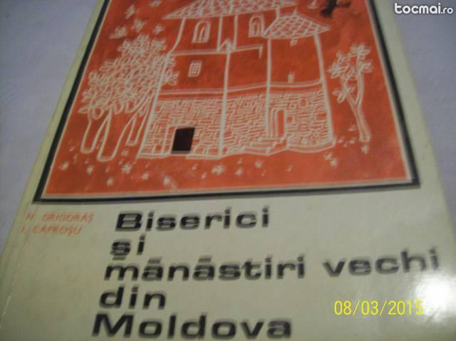 biserici si manastiri vechi din moldova- 1968