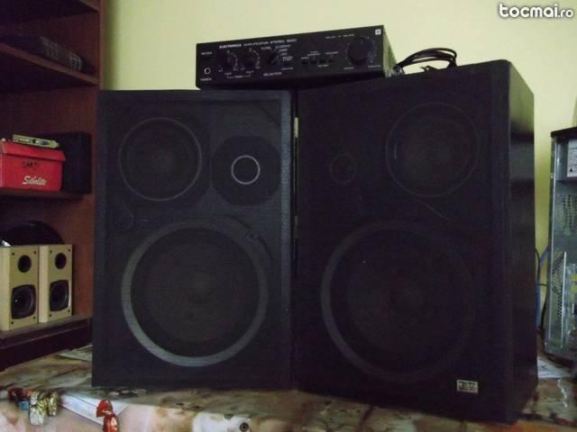 Amplificator Electronica stereo 3220+boxe
