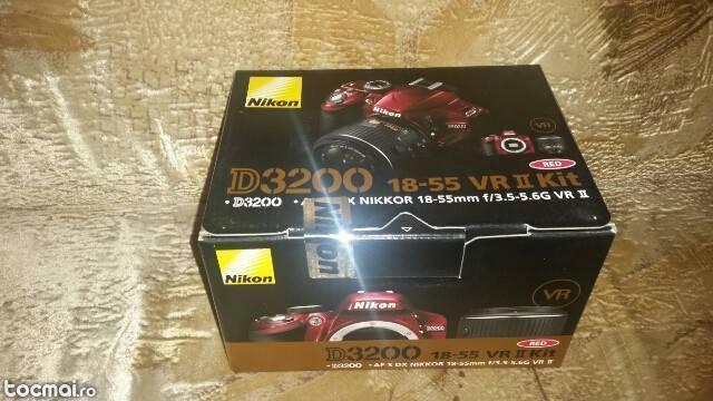 Nikon d3200 18- 55 nou !