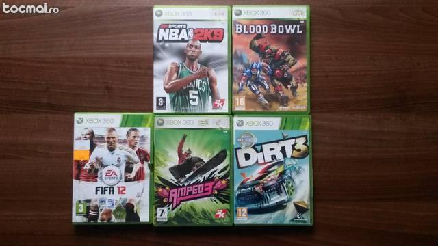 5 jocuri xbox 360