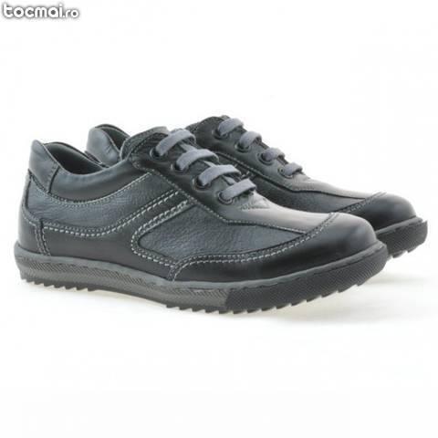 Pantofi piele naturala copii