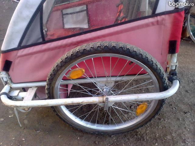 remorca bicicleta