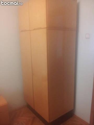 Dormitor Felicia din lemn de paltin complet