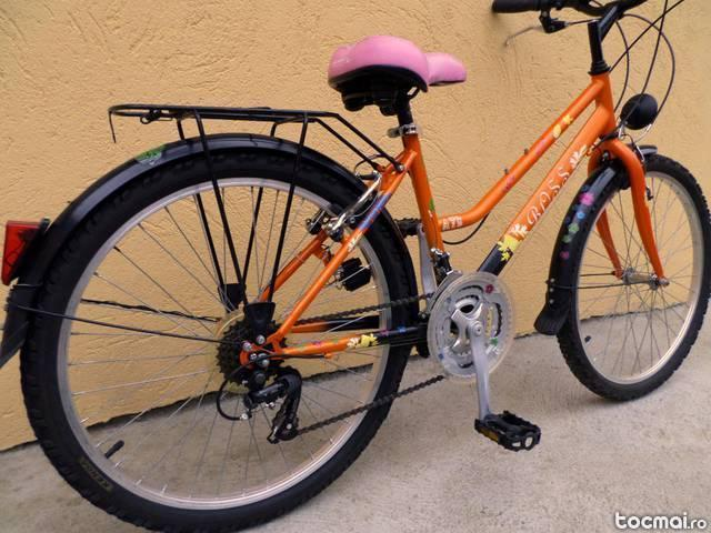 Bicicleta Copii Boss, Roti 24