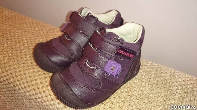 Pantofi copii, piele