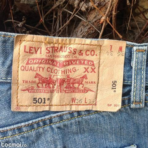 Jeans/ blugi barbatesti levis 501