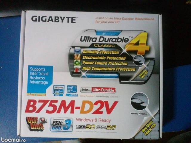 Placa de baza gigabyte b75m- d2v