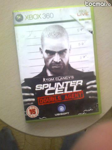 Spliner Cell Double Agent xbox 360 (joc original)